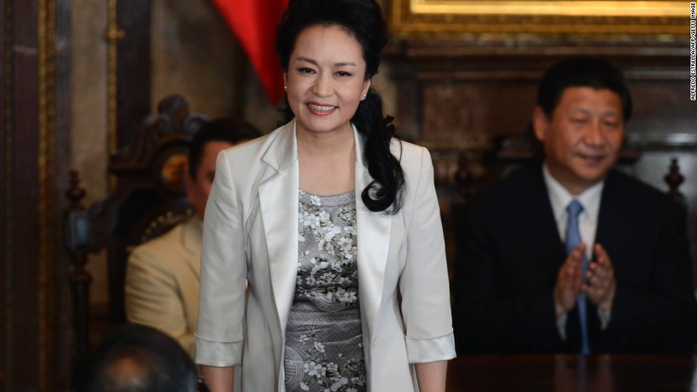 Peng Liyuan commands a popularity as first lady that has been unheard of in China since the days of Soong Ching Ling, the wife of Sun Yat Sen, founding father of the Republic of China. Her celebrity and sharp sartorial sense lends unique glamor to the long invisible role of the Chinese president's wife.