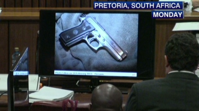 Pistorius defense: Evidence moved