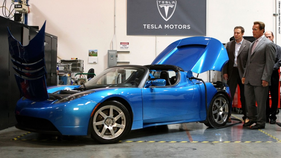 In June 2008, then-Gov. Arnold Schwarzenegger announced that Tesla Motors would build a facility in California to manufacture its all-electric Tesla Roadster.