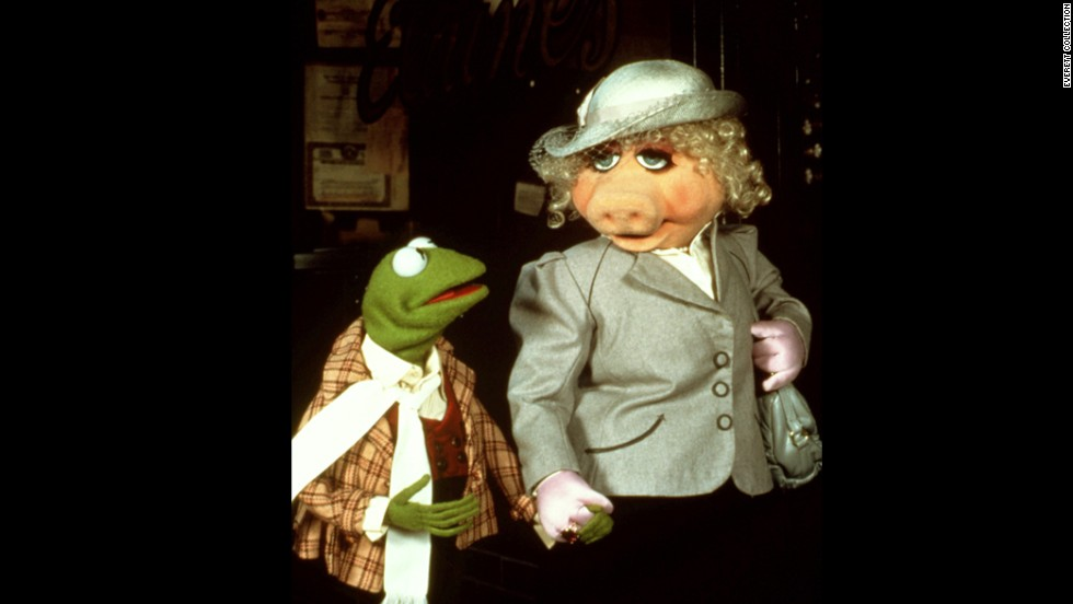 "It's not hard to imagine why Miss Piggy, being a diva destined for greatness, would see her equal in Kermit the Frog. After all, when they came to fame on ""The Muppet Show"" in 1976, he was the HFIC (head frog in charge). Piggy always made her adoration clear, but it seemed her affection was unrequited. In reality, as Kermit has told us, Piggy did catch his eye. ""Debbie Reynolds (in 'Singin' in the Rain') reminds me of Piggy when I first met her,"" <a href=""http://www.cnn.com/2011/11/22/showbiz/movies/muppets-q-and-a/index.html"">he said</a>. ""That's meant as a compliment, Ms. Reynolds."""