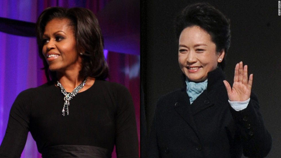 Michelle Obama will visit a school with Peng Liyuan and have a private dinner. Obama is also bringing her daughters and her mother on the trip to China, where they will stop by several educational and cultural site including the Great Wall and the Chengdu Research Base of Giant Panda Breeding.