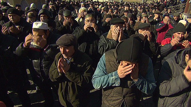 Crimea's Tatars caught in the middle