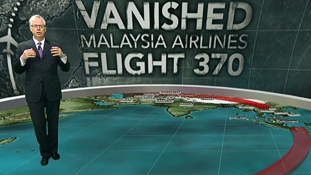 MH370: Search area nearly size of U.S.