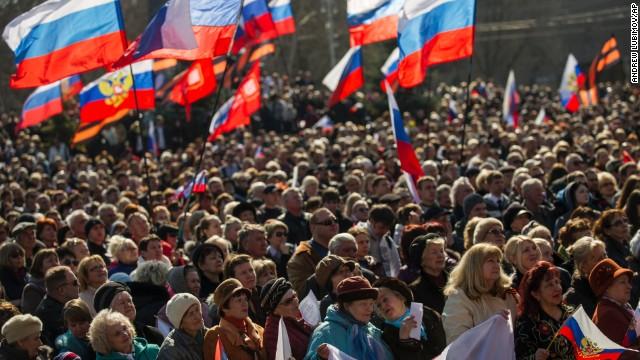 Ukraine: Crimea still Ukrainian territory