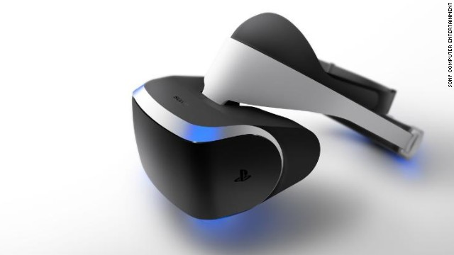 "Sony announced ""Project Morpheus,"" a virtual-reality system for the PlayStation 4, in March."