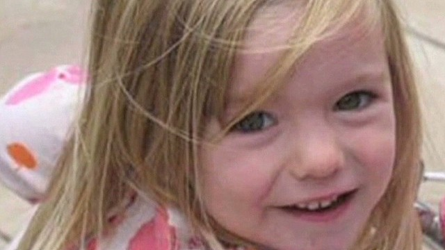 File photo: Madeleine McCann, pictured, disappeared in 2007.