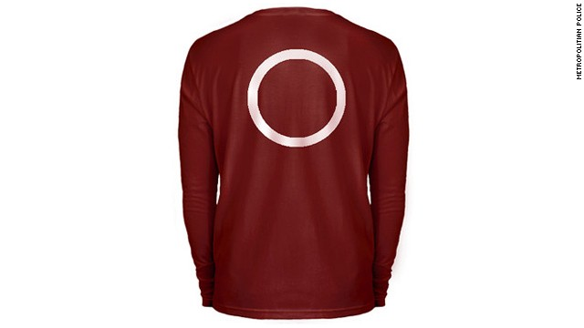 On two occasions the suspect was wearing a burgundy long sleeve top. On one of those occasions it was described as having a white circle on the back, Metropolitan Police said.