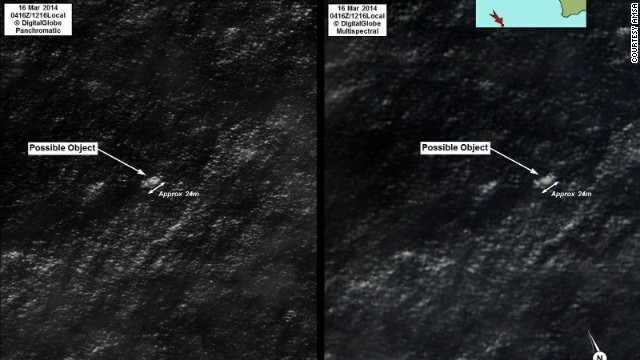 Demo: Satellite searches for debris