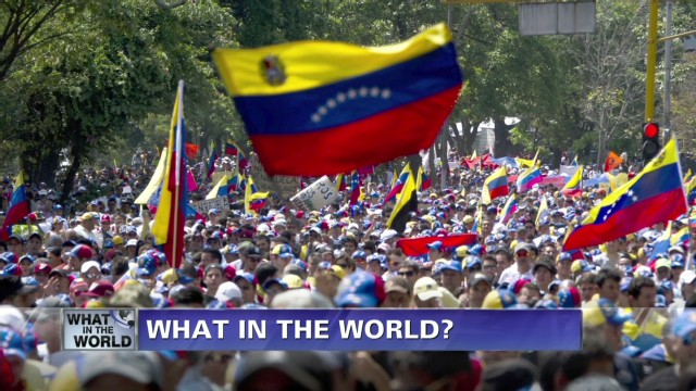 What in the World? Venezuela protests