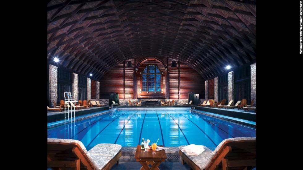 8 Irresistible Indoor Hotel Pools