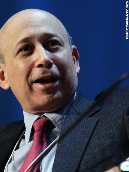Goldman Sachs CEO is trolling Britain over Brexit