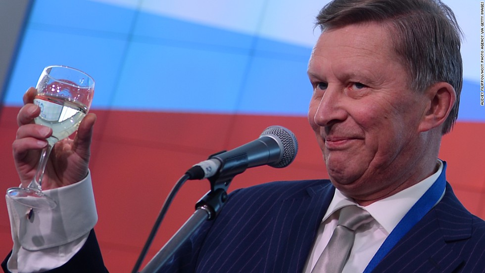 Sergei Ivanov serves as the chief of staff of the presidential executive office. He has been Putin's colleague for decades, since their years of service in the Soviet KGB in St. Petersburg.