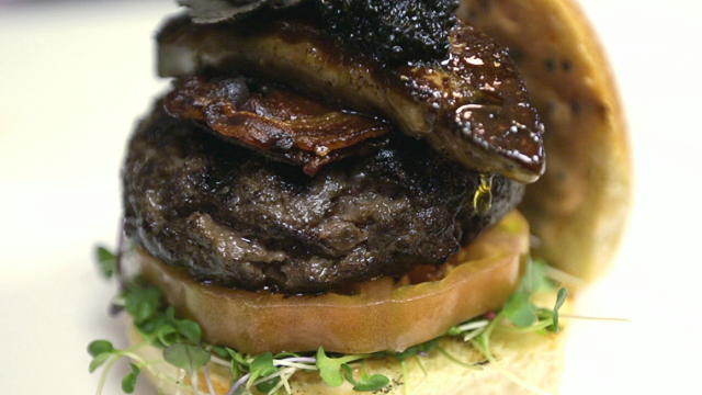 What's in this $250 hamburger?