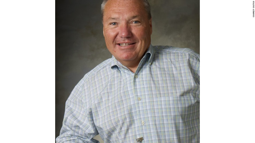 6. Craig Jelinek, Costco - Approval: 95%.