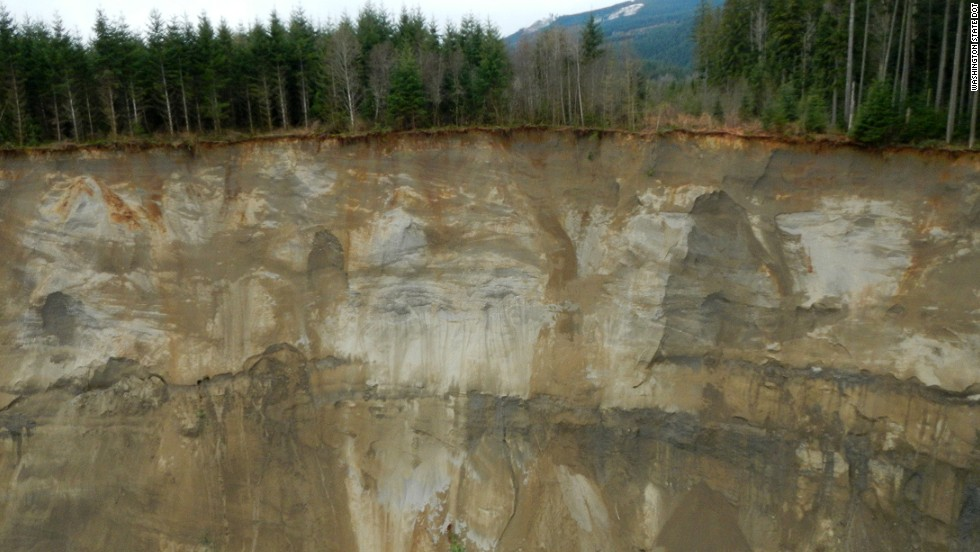 Groundwater saturation, tied to heavy rainfall in the area over the past month, was blamed for the landslide.