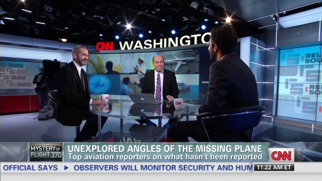 Unexplored angles of the missing plane