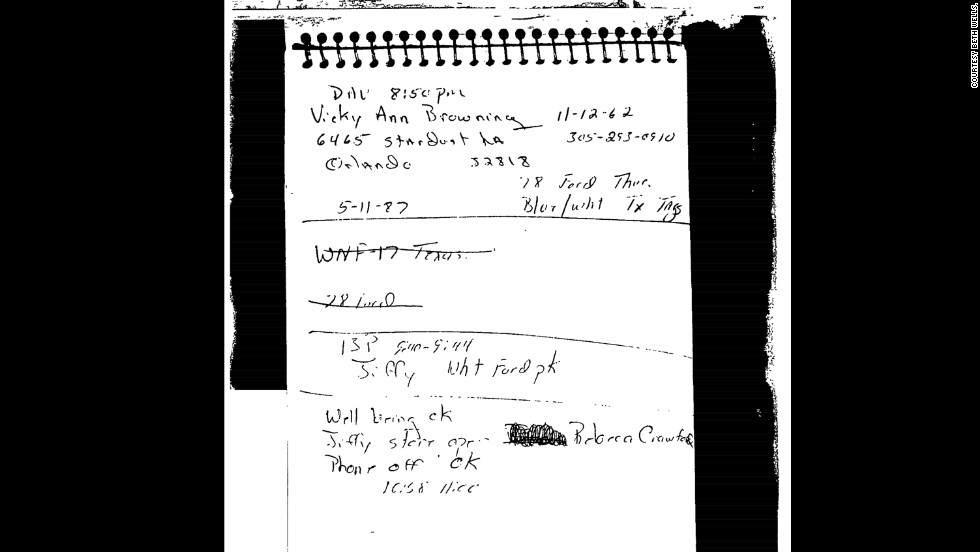"Duckett's police notebook appears to show Duckett visited another convenience store -- a Jiffy Stop -- around the time of the murder, providing him with a possible alibi. But the notebook was not introduced at trial. Veteran homicide detective Marshall Frank -- who interviewed Duckett for a crime novel -- told CNN's ""<a href=""http://www.cnn.com/deathrowstories"" target=""_blank"">Death Row Stories</a>"" the ""Jiffy Stop entry wasn't in the same order as the other loggings. And I thought that was odd."""