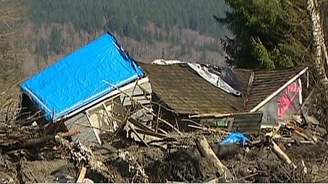 Over 100 missing in Washington landslide