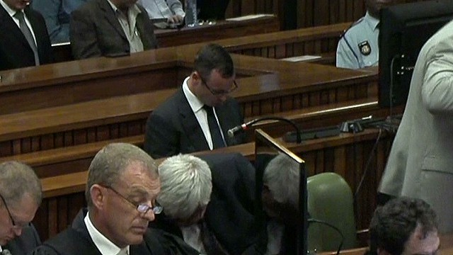 Steenkamp: 'Sometimes you scare me'