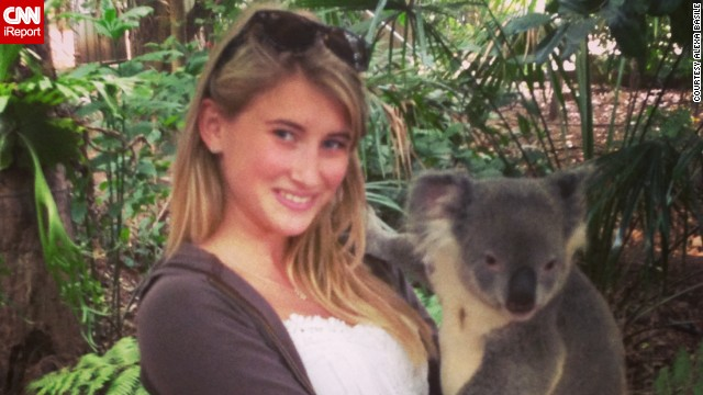 Alexa Basile traveled to Australia for her study-abroad trip.