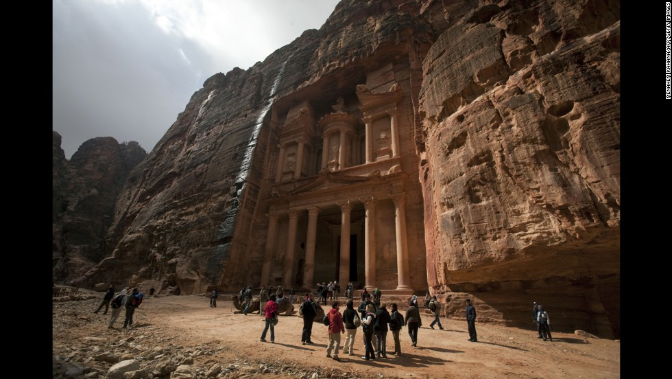 Petra was established as the capital city of the Nabataeans. Now part of Jordan, it's one of the best-known archaeological sites in the world.