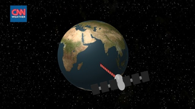 How did satellite 'find' missing plane?