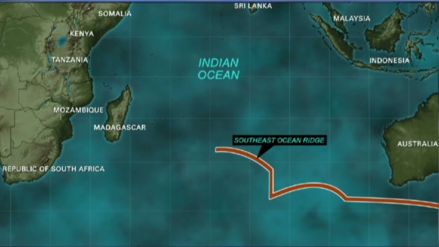 Listening for MH370 'pings' underwater