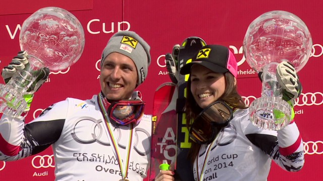 Ski champs come full circle
