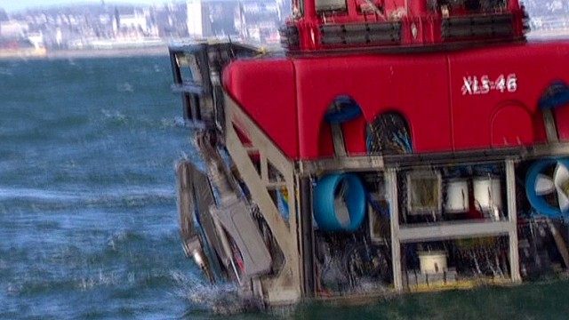 The deep sea robot search for 370