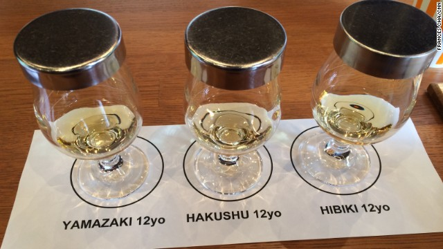 Yamazaki's  free tasting samples.