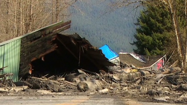 After landslide, search for missing ahead