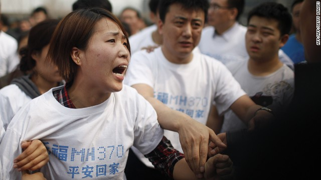 Malaysia Air to Families: None Survived