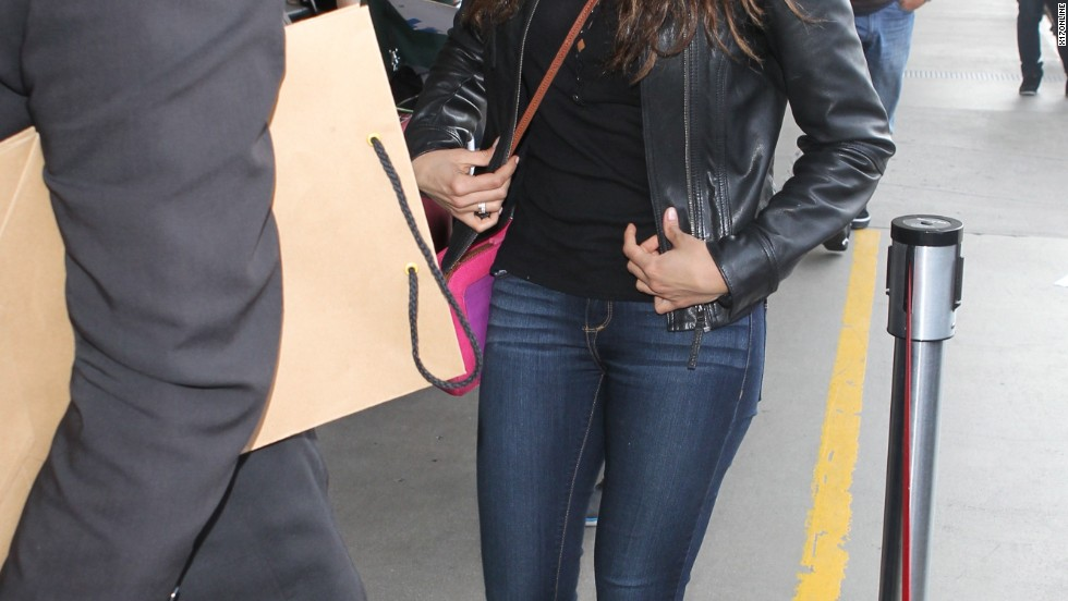 """Vampire Diaries"" star Nina Dobrev flies under the radar at LAX on March 24."