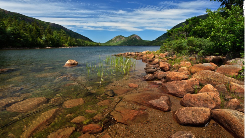 "The Acadia All American Road is a coastal drive that skirts the woodlands of <a href=""http://www.nps.gov/acad/"" target=""_blank"">Acadia National Park</a> in Maine."