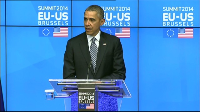 Obama: Russia stands alone