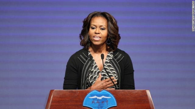 "The First Lady will make a cameo on the May 7 episode of ""Nashville."""