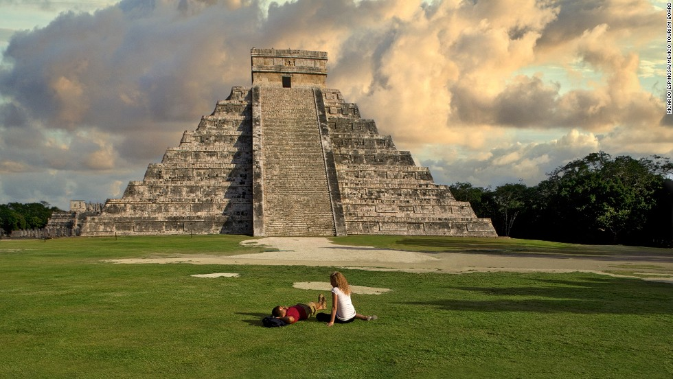 "Clap your hands in front of this 1,100-year-old structure and you'll hear an echo not unlike the sacred quetzal bird. <a href=""http://www.sonicwonders.org/el-castillo-chichen-itza-mexico/"" target=""_blank"">Hear it here</a>."