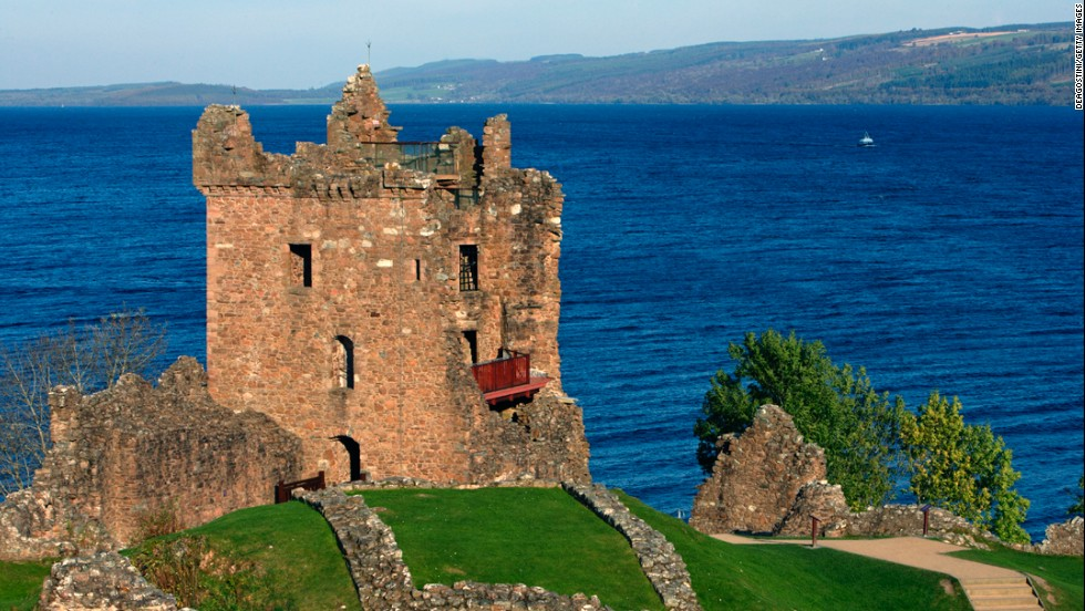 Urquhart Castle, one of the most-visited castles in the country, played a strategic role in the Wars of Scottish Independence.