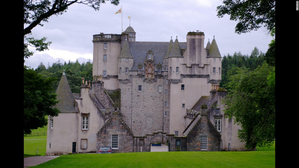 "The romantic-looking Castle Fraser was featured in ""The Queen,"" starring Helen Mirren. <br />"