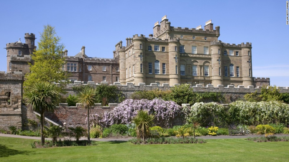 Culzean Castle looks like something from a fairy tale, with turrets and battlements, gardens and forests.