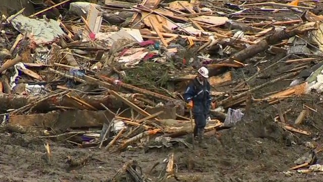 Rescue, recovery efforts after landslide