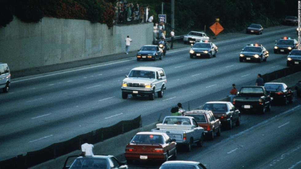 Perhaps the greatest media circus of modern times started with O.J. Simpson's slow-speed car chase down a Los Angeles freeway after the murder of his wife. The ensuing trial may not have done much for the national politic, but it was a terrific distraction -- and great for ratings.