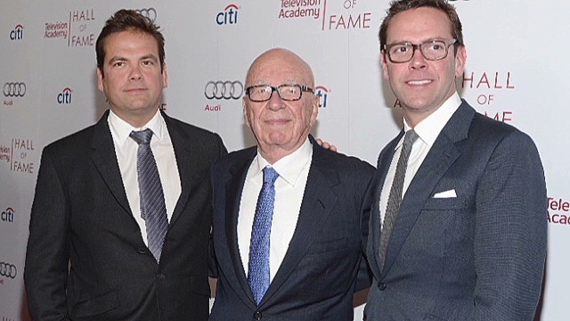 Murdoch's son returns to News Corp