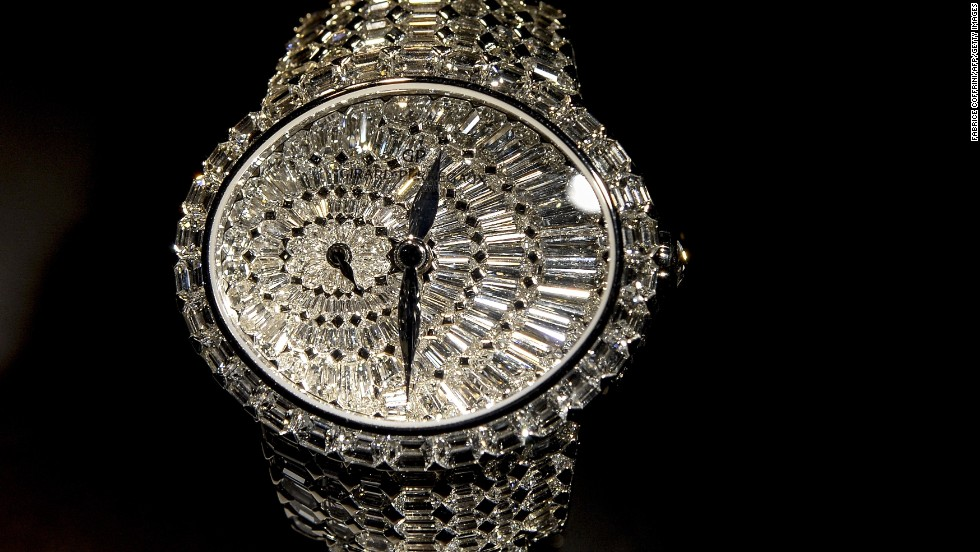 "But when it comes to bling, Baselword goes big. One of the highlights of this year's show back in April was the glistening ""Cat's Eye"" watch by Swiss watchmaker Girard-Perregaux, which is encrusted with 646 diamonds, and had a white gold dial, case and bracelet. In spite of its alluring sparkle, many industry experts emphasize that the most important element of the timepiece is its movement mechanism."