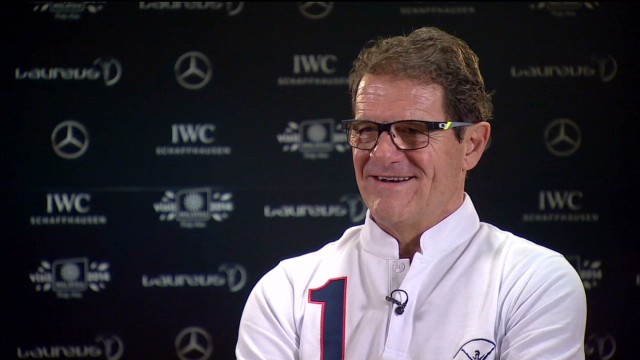 Capello: Sport is outside politics