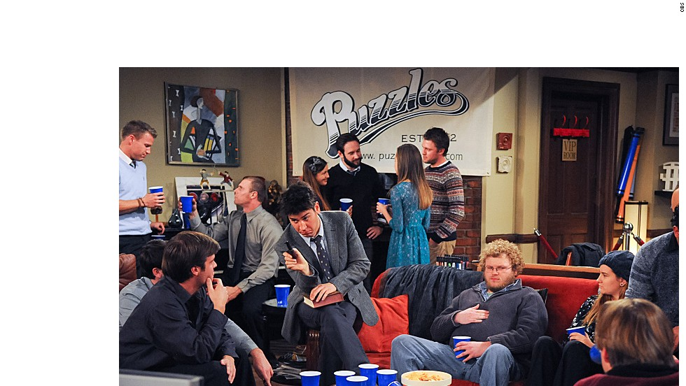 "Ted and Barney's dream bar, ""Puzzles"" was set up in Ted's apartment. It even had a <a href=""http://www.youtube.com/watch?v=t_ejSbICjHI"" target=""_blank"">theme song</a>, which sounded a bit like that other bar-based sitcom."
