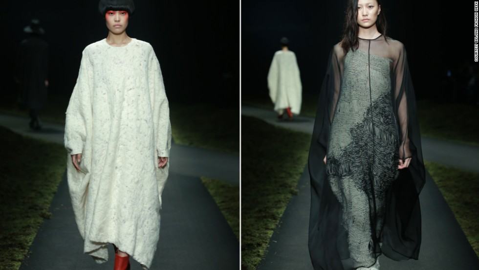 The name Ban Xiaoxue is often on the lips of China's fashionistas. After the designer represented the nation at the prestigious International Woolmark Prize competition last year, his next move has been eagerly awaited. Ban's latest collection showed on Wednesday, with plenty of Eastern silhouettes and dramatic black-white-red color blocks.