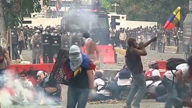 Protests in Venezuela worry many in Cuba