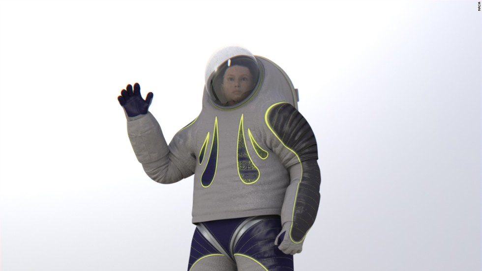 NASAs Next Prototype Spacesuit Has a Brand New Look