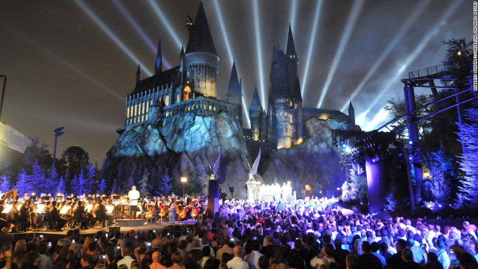 "<a href=""https://www.universalorlando.com/harrypotter/"" target=""_blank"">The Wizarding World of Harry Potter</a> at Universal Orlando Resort has been a crowd-pleaser since it opened in 2010. The Florida park is No. 9 on the list."